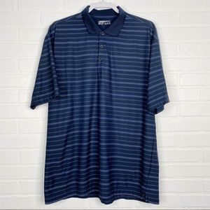 Nike Golf Polo Nike Fit Dry Men's XL Navy